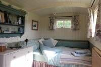 Bathsheba Shepherds Hut Crediton | Devon Glamping Camping | QU