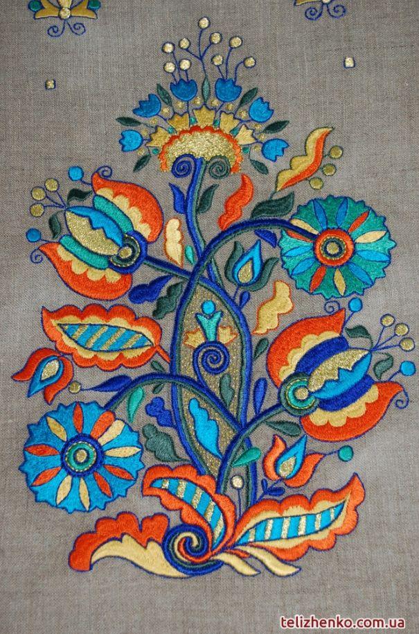 Ukrainian traditional fork weaving: Olexandry Telizhenko studio_Details
