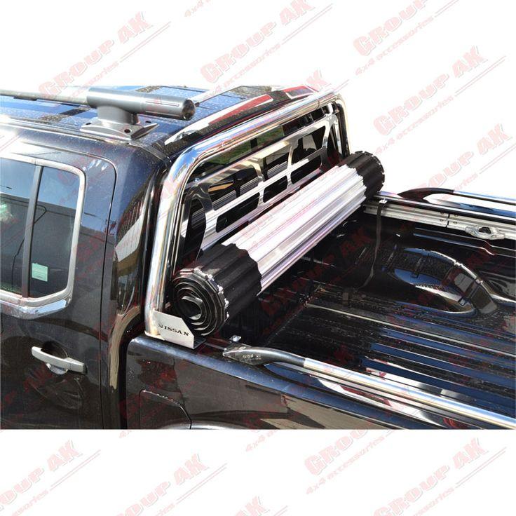 Roll-X+roll-bar+side rails Nissan Navara D40