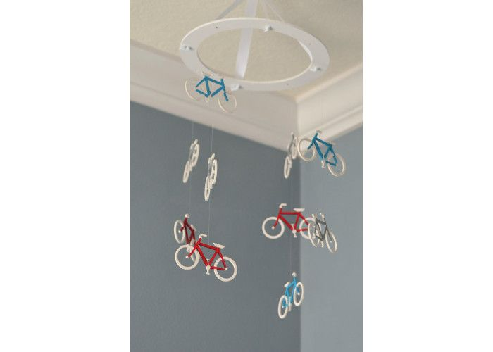 Bicycle Nursery Mobile. Price: £52.84, available from Etsy.