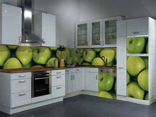 Dorable Manzana Verde Ideas De Decoración De La Cocina Colección ...