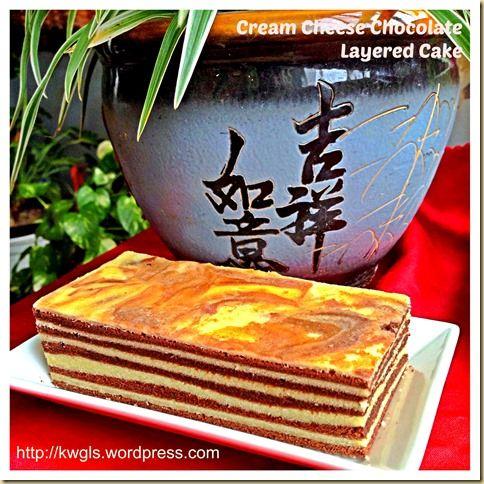 Cream Cheese Chocolate Lapis Cake