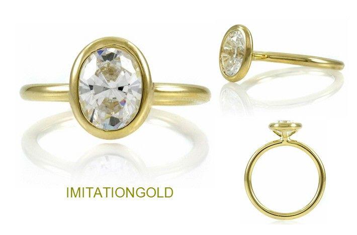ダイヤモンド14金リング|セレブの指輪|スカーレット・ヨハンソン ファッション