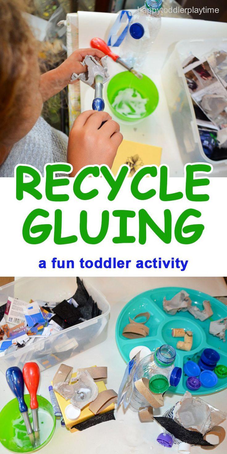 Kleben Sie recycelte Materialien wie Eierkartons und Junk-Mail zusammen, um …   – Recycle / Earth Day Curriculum