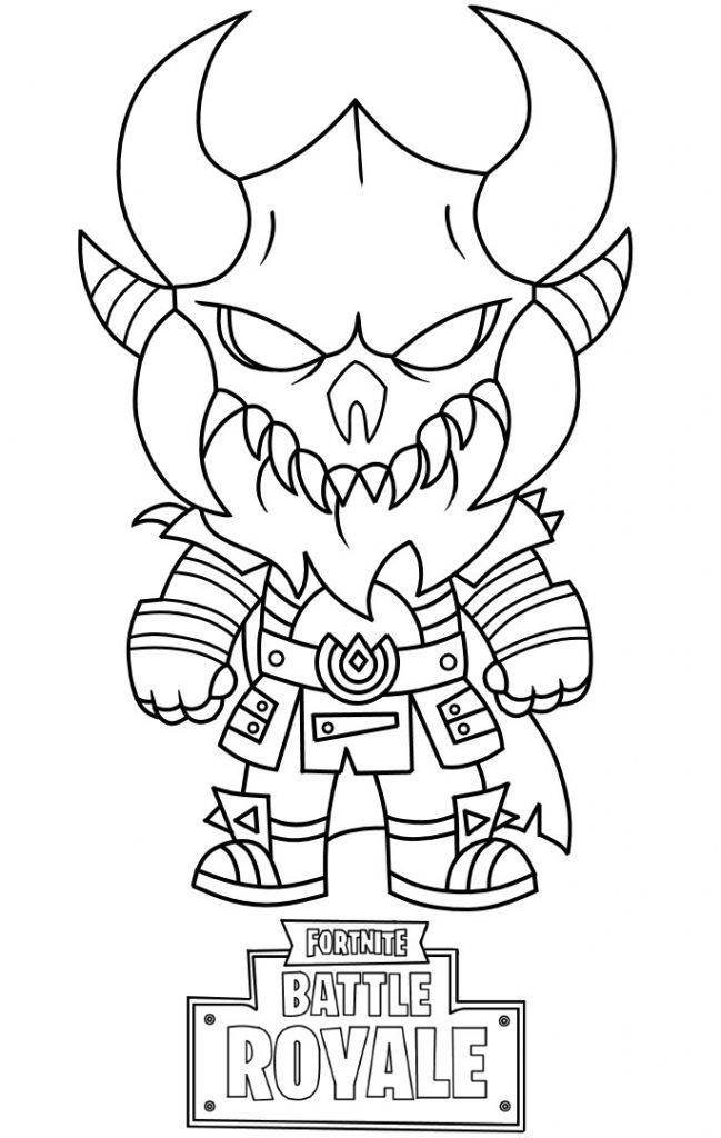 Fortnite Coloring Pages ⋆ coloring.rocks! | Video Game ...