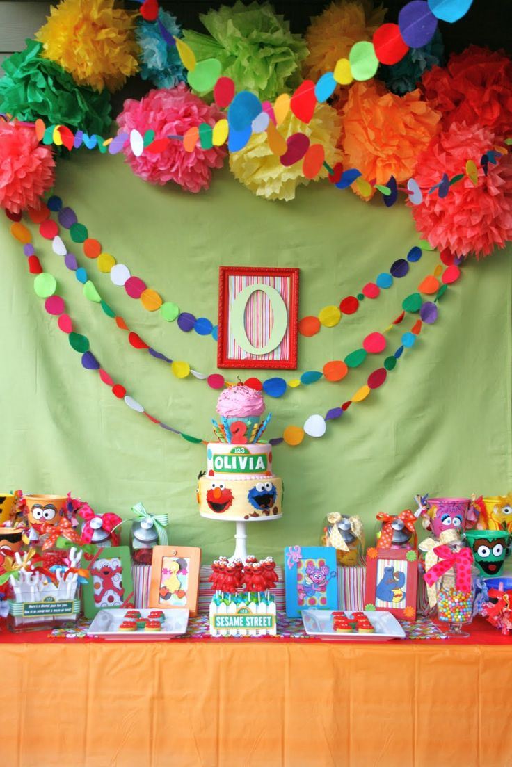 Whimsy & Wise Events: Wisely Planned Birthdays: S is for Sesame Street!