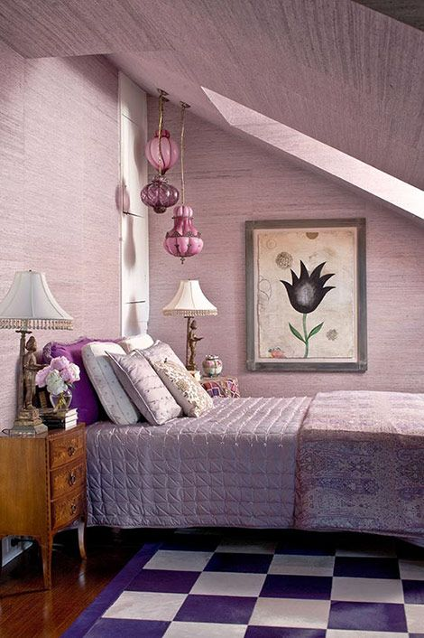 1000 ideas about purple ceiling on pinterest purple - What type of paint to use in bedroom ...