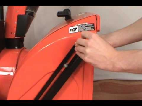 Learn how to install drift cutters on a Husqvarna two stage Snow Blower. Drift cutters cut into high snow and direct it into the auger housing, instead of letting it fall on top of your snow blower.