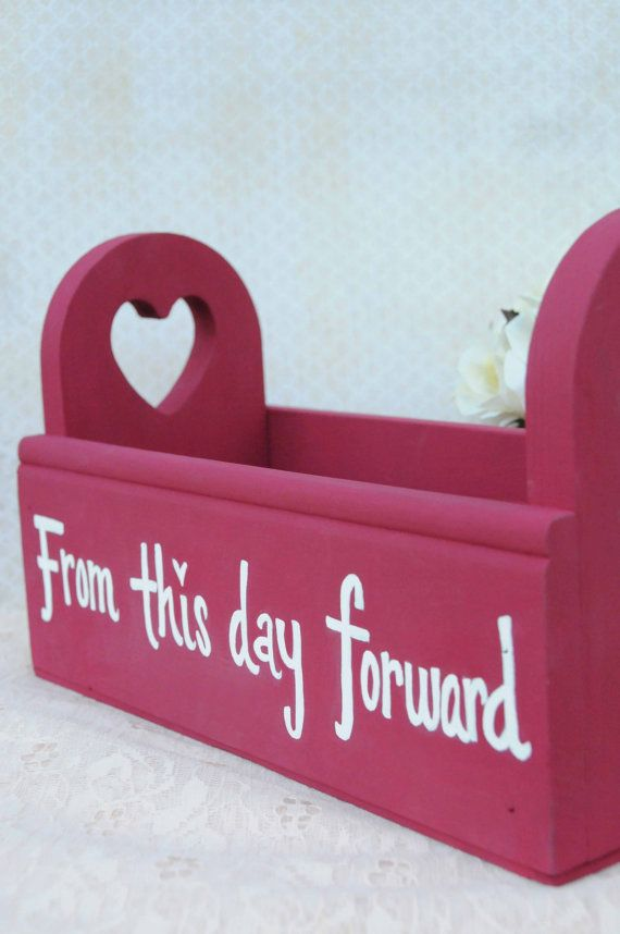wood wedding card holders%0A Wedding Advice Box Alternative Guest Book  Advice for Bride and Groom  Red   Hearts
