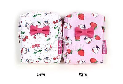 Hello Kitty Pouch Mini Bag Cherry StrawBerry Pattern