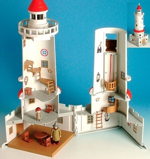 Moomin lighthouse