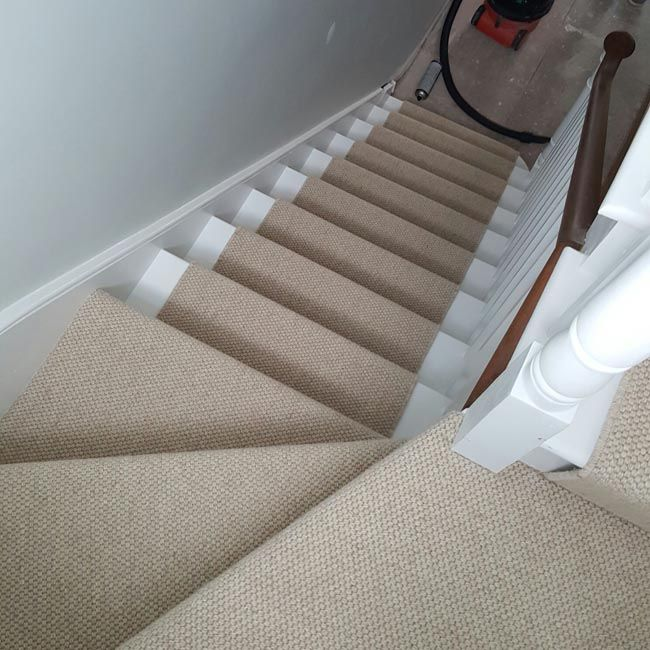 portfolio carpets brown wool stair runner 08
