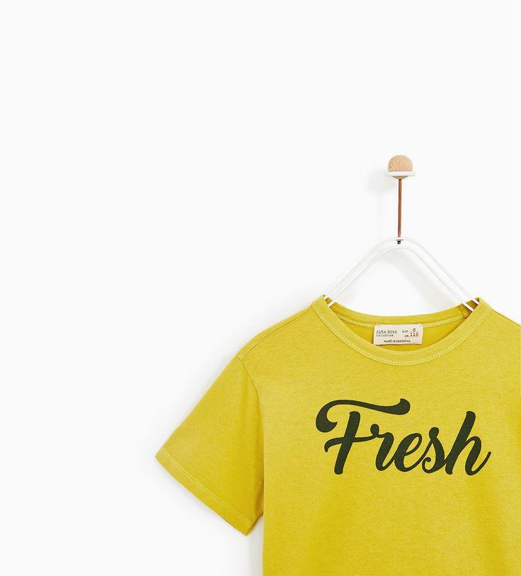 Image 3 of 'FRESH' T-SHIRT from Zara