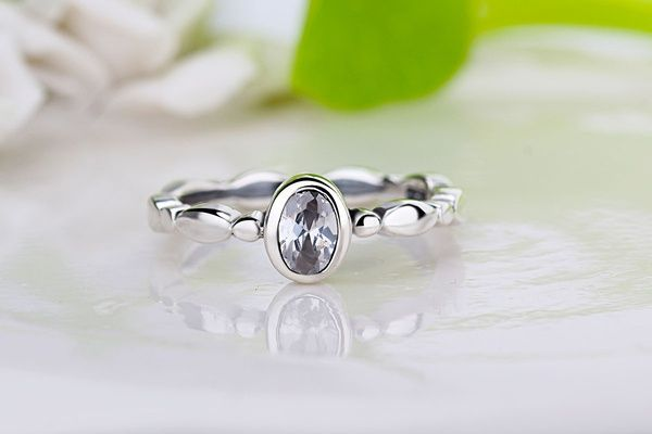crystal rings, men's rings, Ms. ring, engagement ring, Lord of the Rings, fashion silver jewelry rin