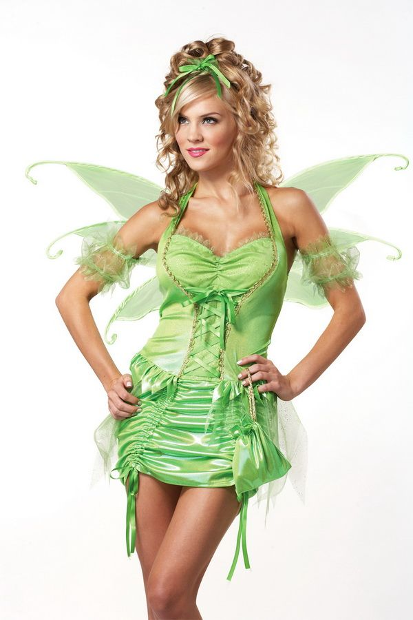 Adult Women Tinkerbell Costume Plus Size