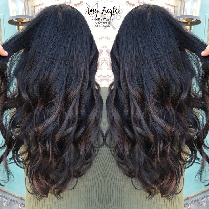 Look - Hair ombre jet black to brown video