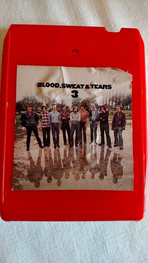 "Vintage 8 Track Tape ""Blood, Sweat & Tears"" 3"