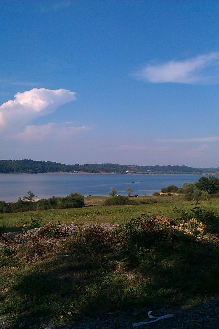 Romania, Hunedoara, Surduc lake