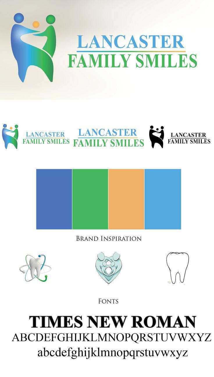 Lancaster Family Smiles Branding
