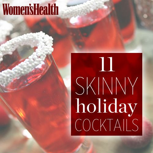 Enjoy a drink AND maintain a healthy weight with these figure-friendly holiday cocktail recipes: http://www.womenshealthmag.com/nutrition/holiday-cocktails?cm_mmc=Pinterest-_-womenshealth-_-content-food-_-skinnyholidaycocktails