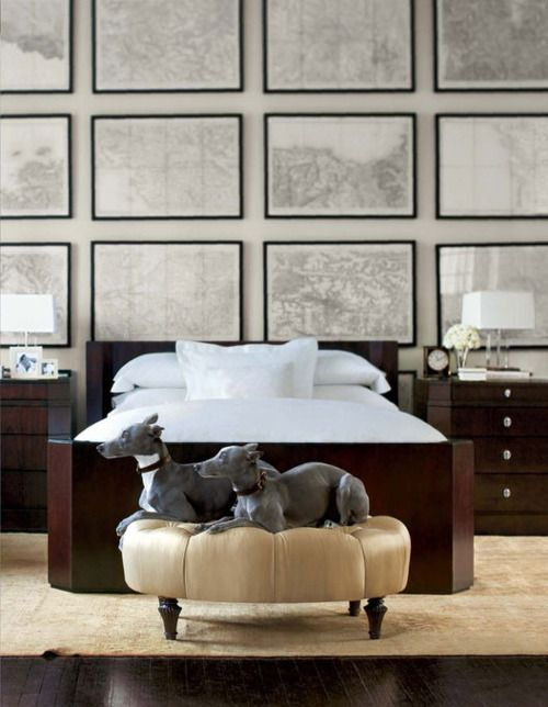 This is Ralph Lauren Home. || http://tattylace.files.wordpress.com/2013/03/dogs-in-room.jpg
