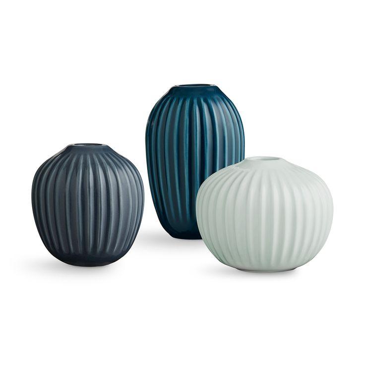 Hammershøi Vas Miniatyr 3-Pack, Grön 449 kr. - RoyalDesign.se