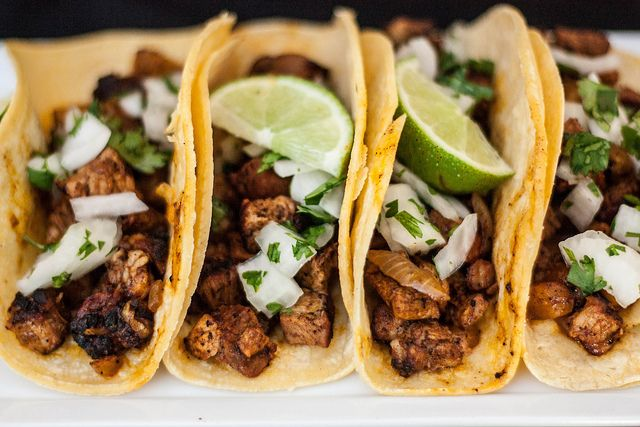 Tacos al Pastor - Rick Bayless, I love you.