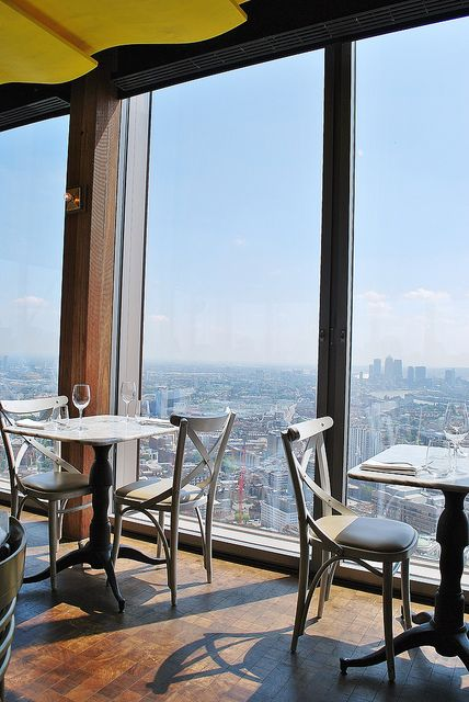 Duck & Waffle | London - I think I might have to stop by for the late night menu just for the view #london