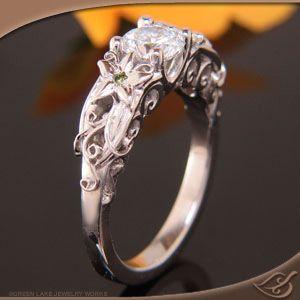 Wedding rings unusual design kids