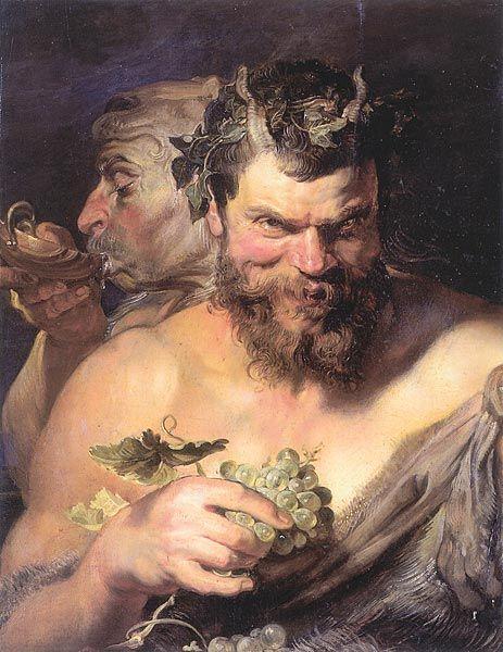 Δυο Σάτυροι. (1618-19)