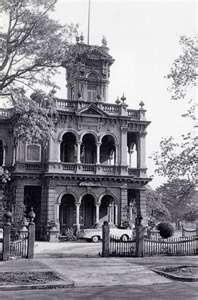 Iloura in St Kilda Road demolished in 1964)