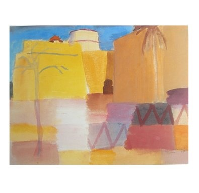 Auguste Macke, Die Tunisreise. Watercolors from a trip to Tunisia with Paul Klee. Completed months before his death, Sep 26th 1914.Complete Month, North Africa, Amazing Art, Die Tunisreis, Auguste North, Auguste Macke, Klee Macke, 26Th 1914, Macke Travel