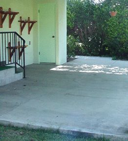 Best 25+ Painted Cement Patio Ideas On Pinterest   Painted Concrete Patios,  Concrete Patio Paint And Painting Concrete
