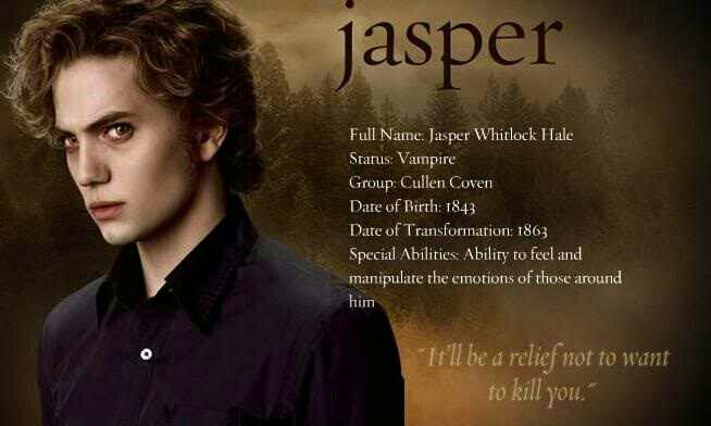 #TwilightSaga #NewMoon - Jasper Hale