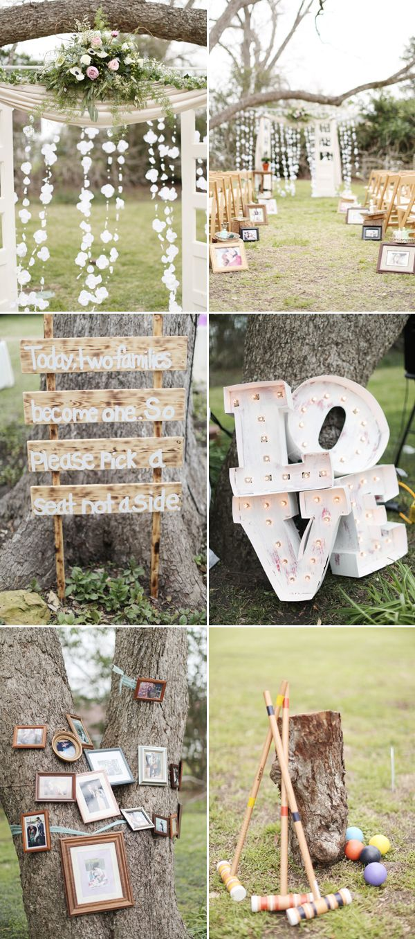 Woodsy Whimsical DIY Texas Wedding