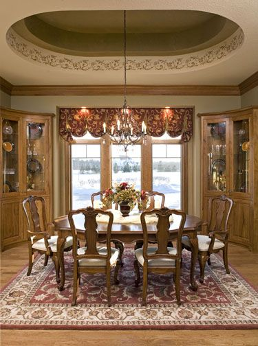 1000 images about tray ceilings on pinterest columns for Dining room ceiling paint ideas