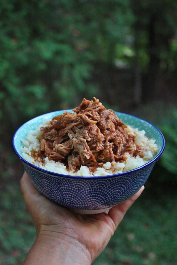 La première fois que j'ai testé cette recette ce n'était pas avec du porc mais avec du sanglier. Nous avons adoré! Mais… n'ayant pas très souvent du sanglier sous la main,, enfin je veux dire dans …