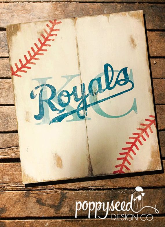 Hey, I found this really awesome Etsy listing at https://www.etsy.com/listing/230856639/kansas-city-royals-baseball-laces-wooden