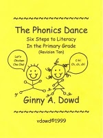 Phonics Dance...Six Steps to Literacy.  What a great idea to incorporate music and dance!
