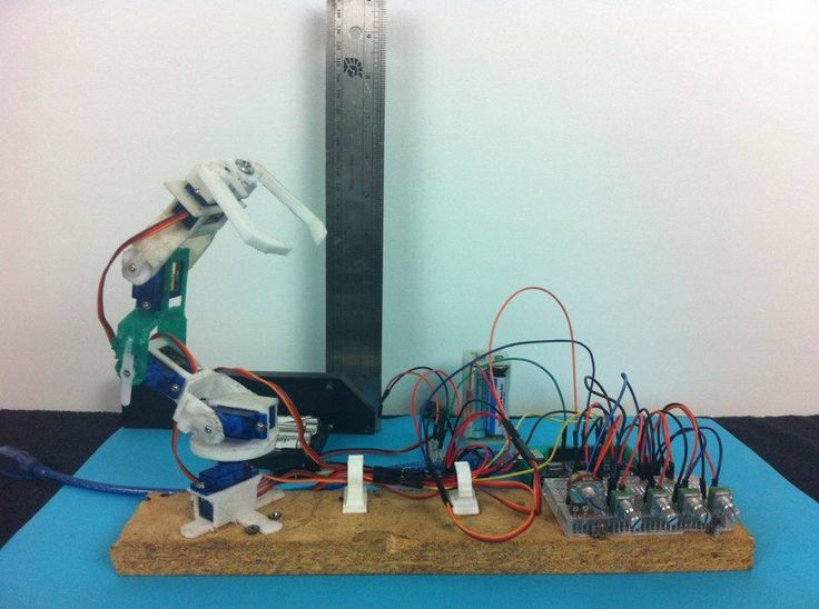 A 3d printed arduino robotic arm