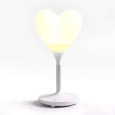"""Robot Heart Lamp in White - K-drama addicts unite!!!   Inspired by the popular Korean drama that has been top of our list of must-watch K-dramas, """"I'm *** * Robot"""", we have brought in this cute heart LED lamp that has been featured in most of the scenes!"""