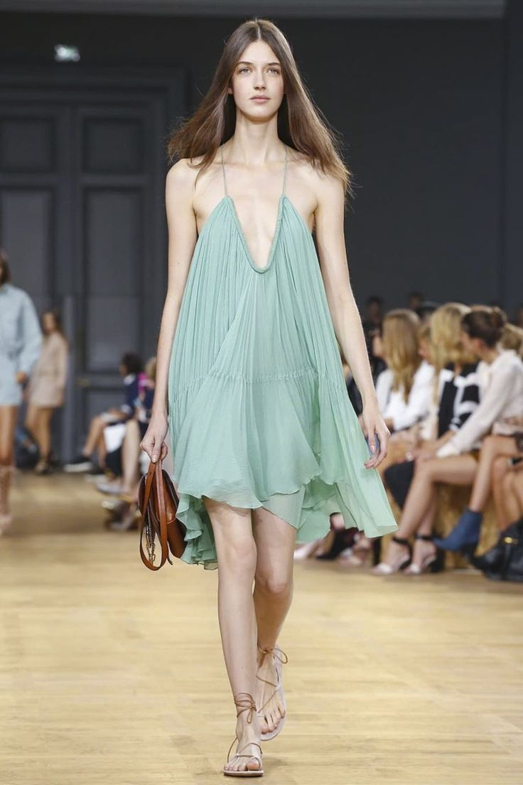 Chloé Ready To Wear Spring Summer 2015 Paris - NOWFASHION