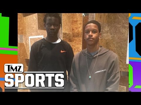 Shareef O'Neal & Bol Bol: Are UNSTOPPABLE On The Court I TMZ SPORTS