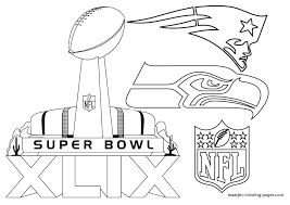 super bowl trophy coloring pages - Super Bowl Trophy Coloring Pages