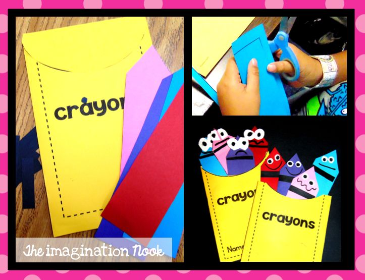 Classroom Freebies Too: The Day the Crayons Quit