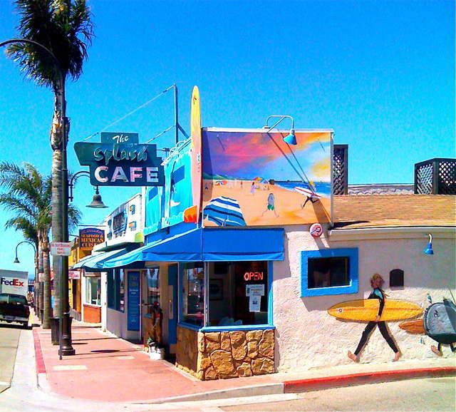 Splash Cafe - Pismo Beach, CA Best Clam Chowder EVER!  I would take a road trip just to go back and have some!
