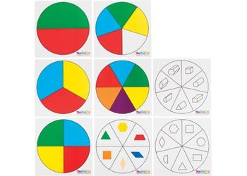 Spinner Insert Set II – Colours & Shapes