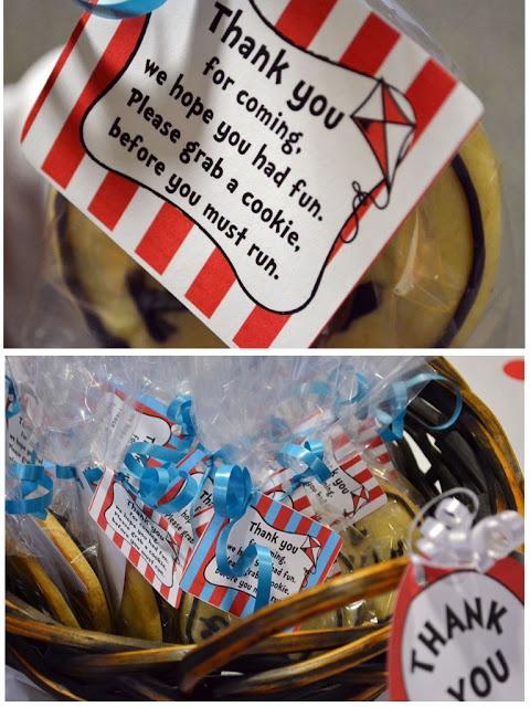 Dr. Seuss party ideas.