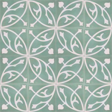 portugese-tegels -> VN Oval Olive S6.6 - Designtegels
