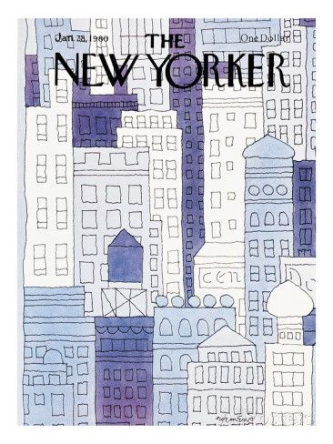 The New Yorker Cover - January 28, 1980 - Gicléetryck på högkvalitetspapper av John Norment på AllPosters.se
